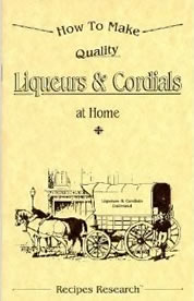 Liqueur Book Front Cover