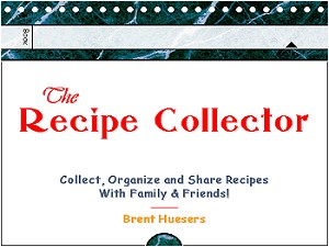 Recipe Collector Front cover